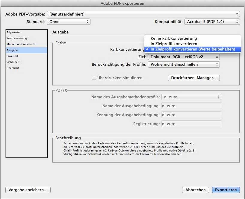 PDF-Konvertierung