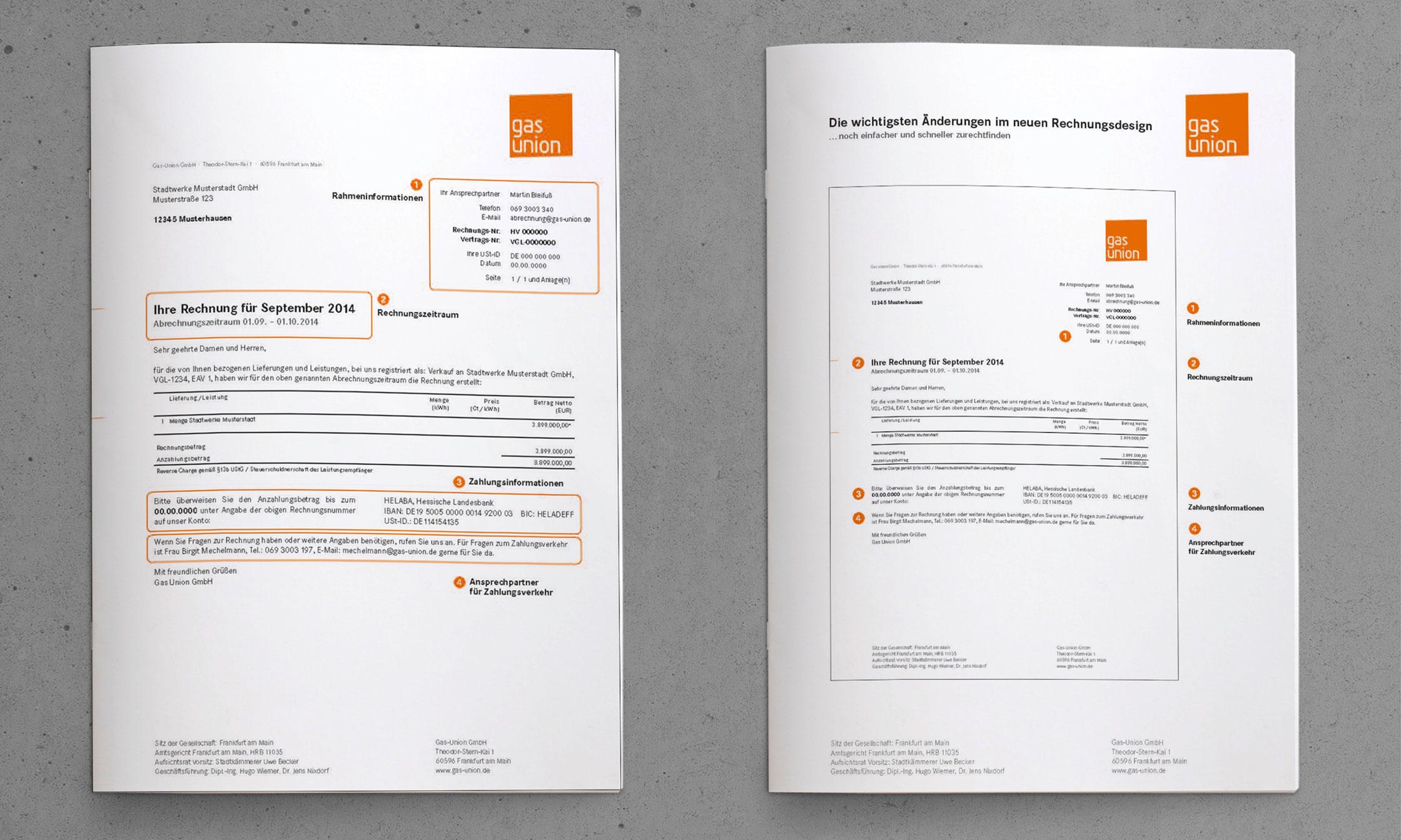 Kundenfreundliche Energierechnung Erklärung © drehphase brand & design communication, Florian Dreher